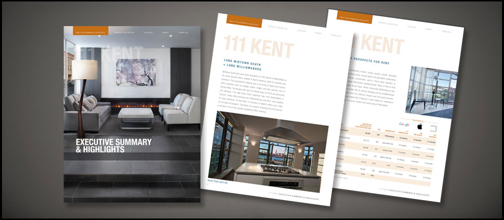 Mixed - Commercial real estate brochure template